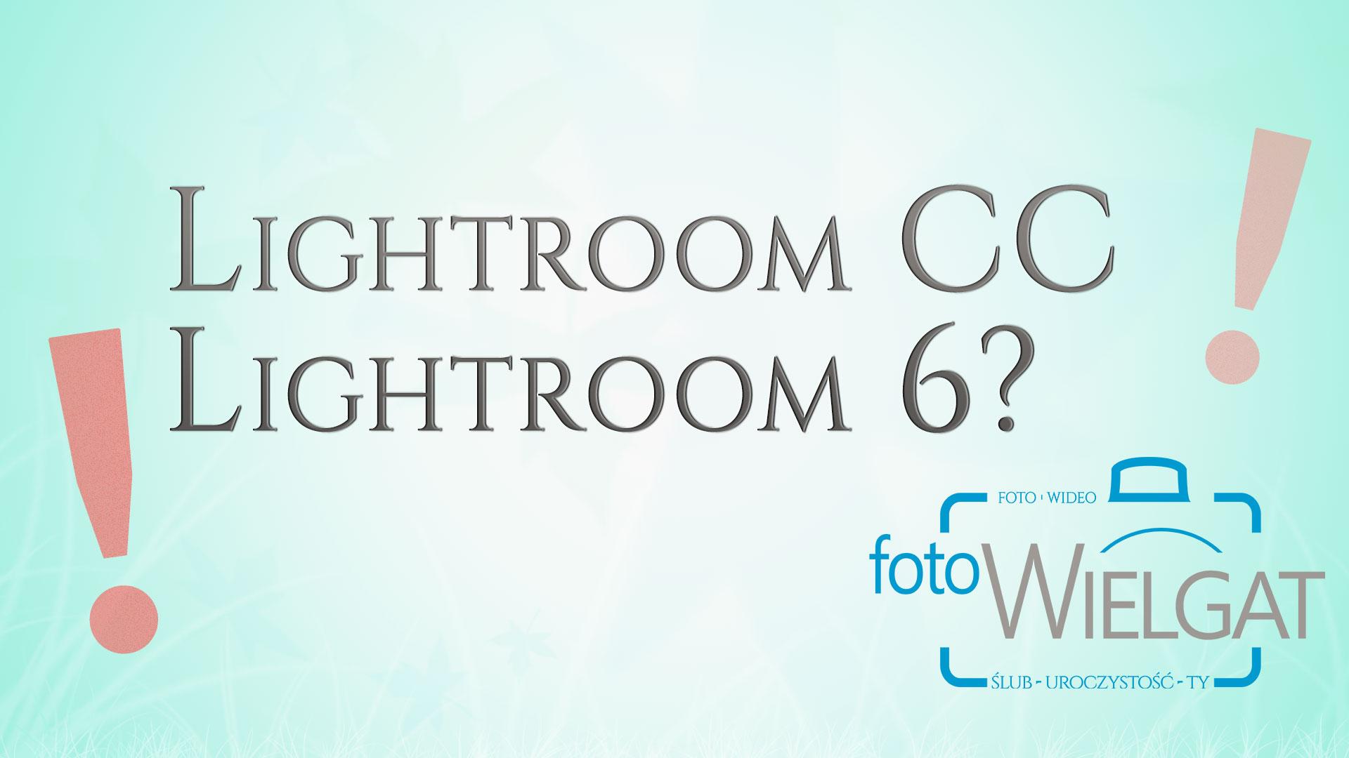 Lightroom 6 CC