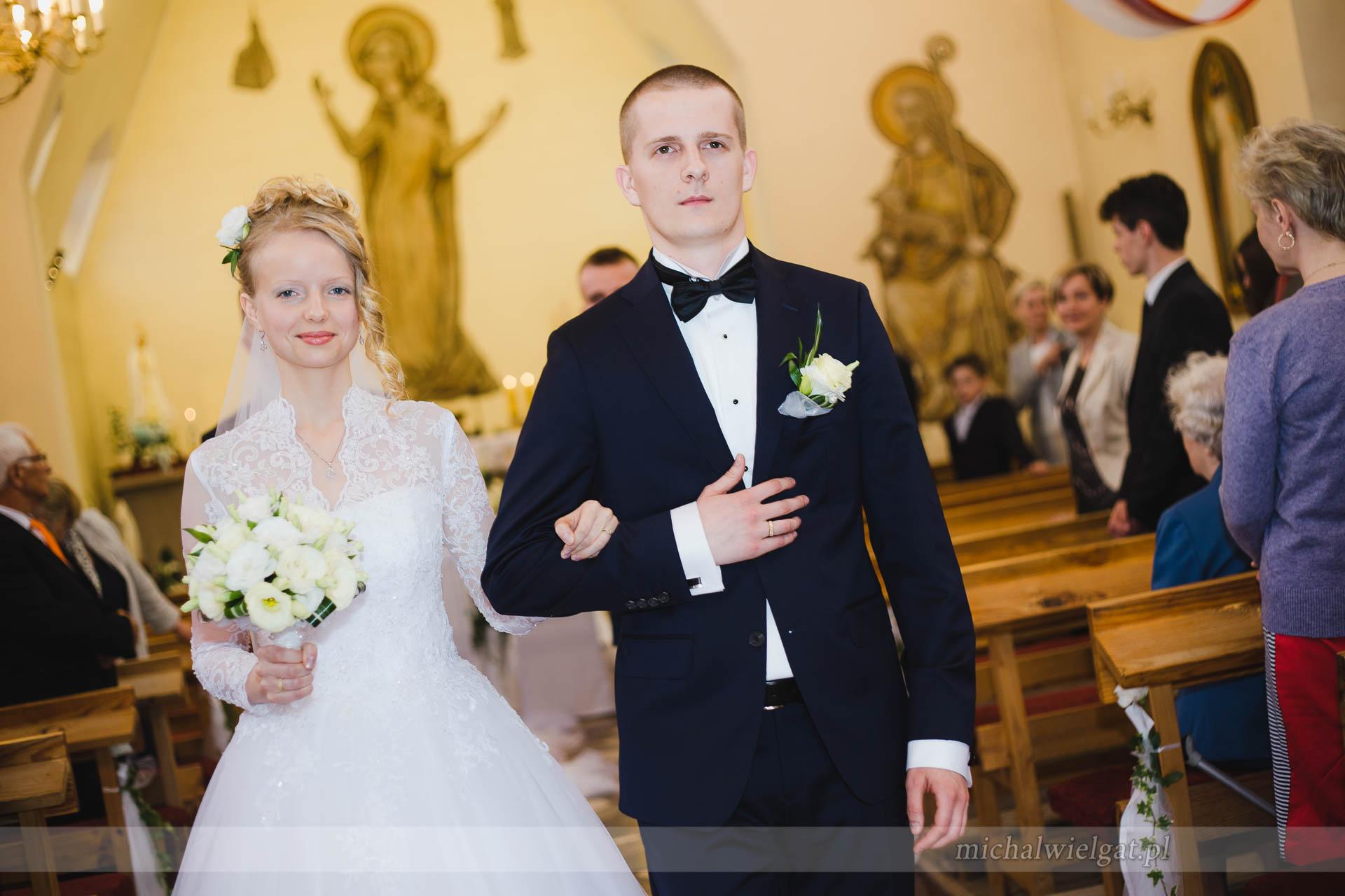 ślub Weroniki i Krystiana w Lęborku
