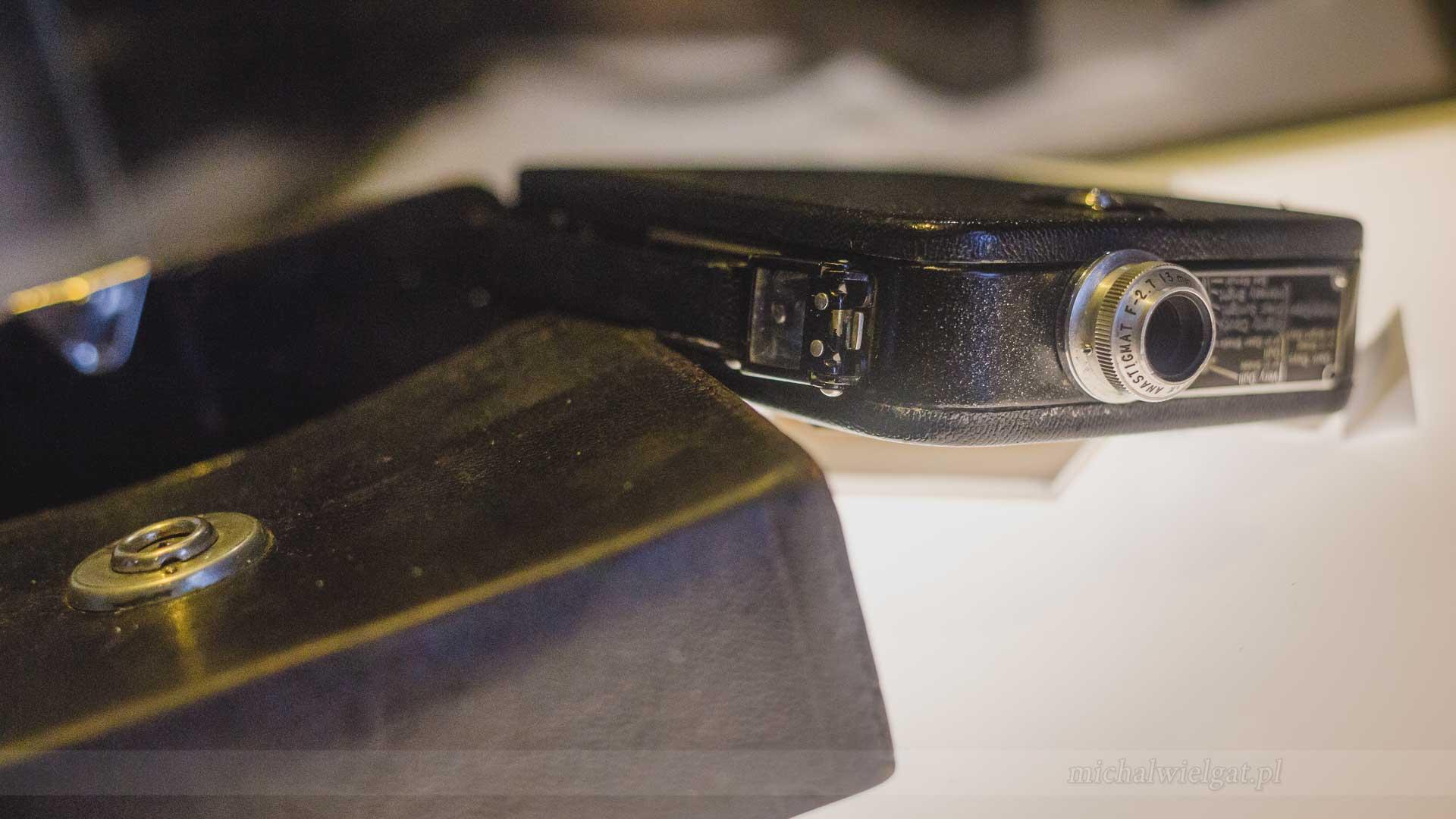 Kodak Cine-Kodak Eight, kamera, eksponat