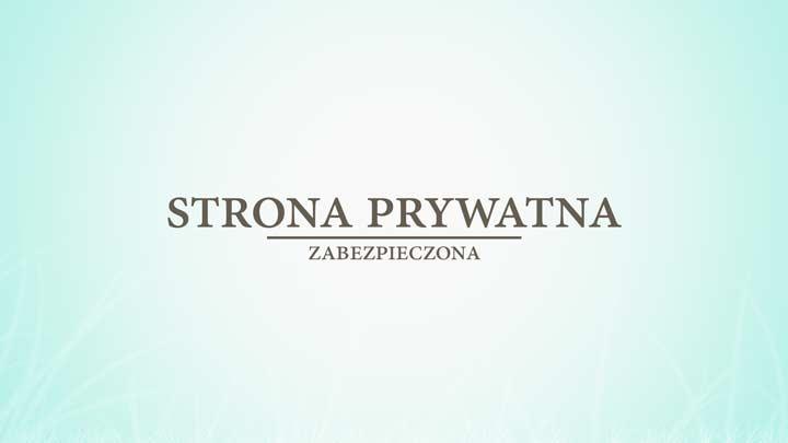 strona prywatna