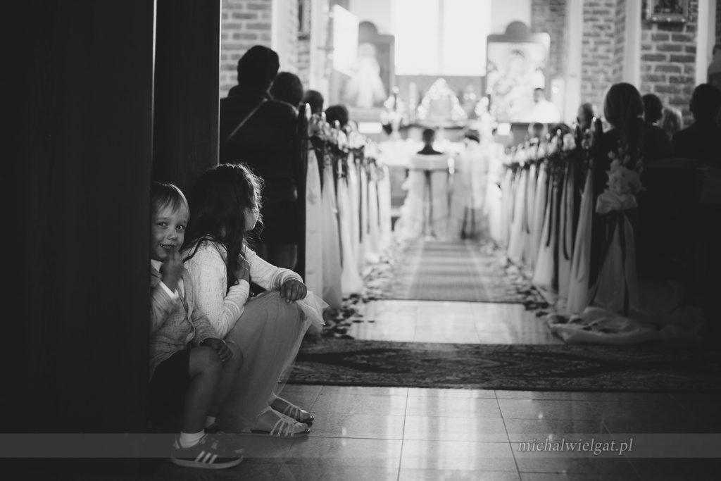 szczegóły ceremoni wystrój kościoła