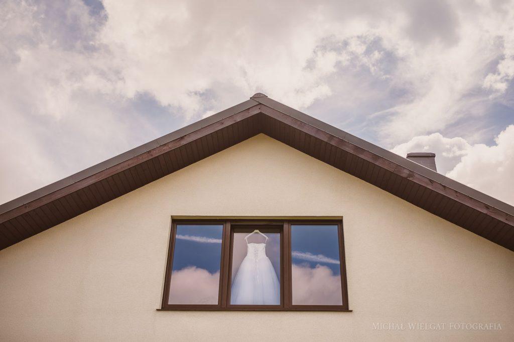 samolot suknia ślubna Koszalin