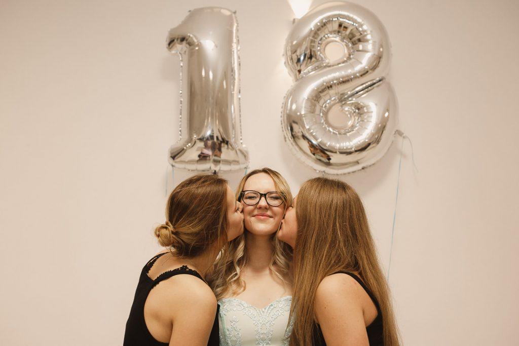 fotobudka na osiemnastkę, 18 urodziny