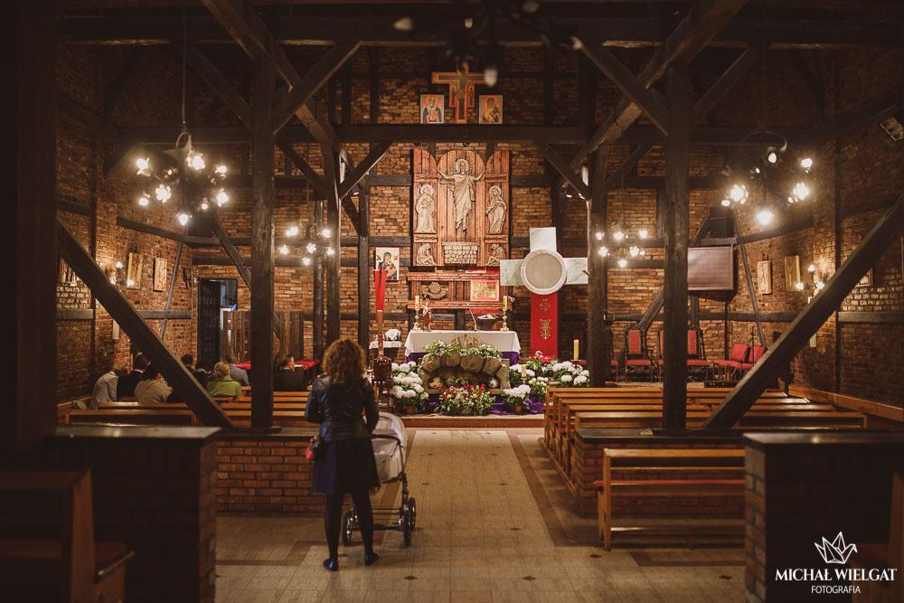 Chrzest Święty w kościele katolickim Kantego w Słupsku