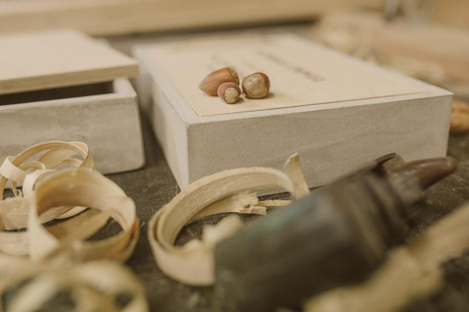 Pudełko betonowe na odbitki dla fotografa producent, pudełko na zdjęcia, odbitki fotograficzne, 21x15, 23x15, grawer, drewno