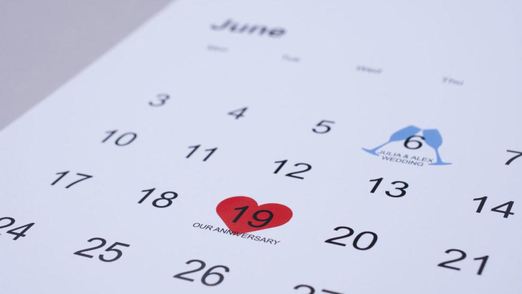 ważne daty w kalendarzu