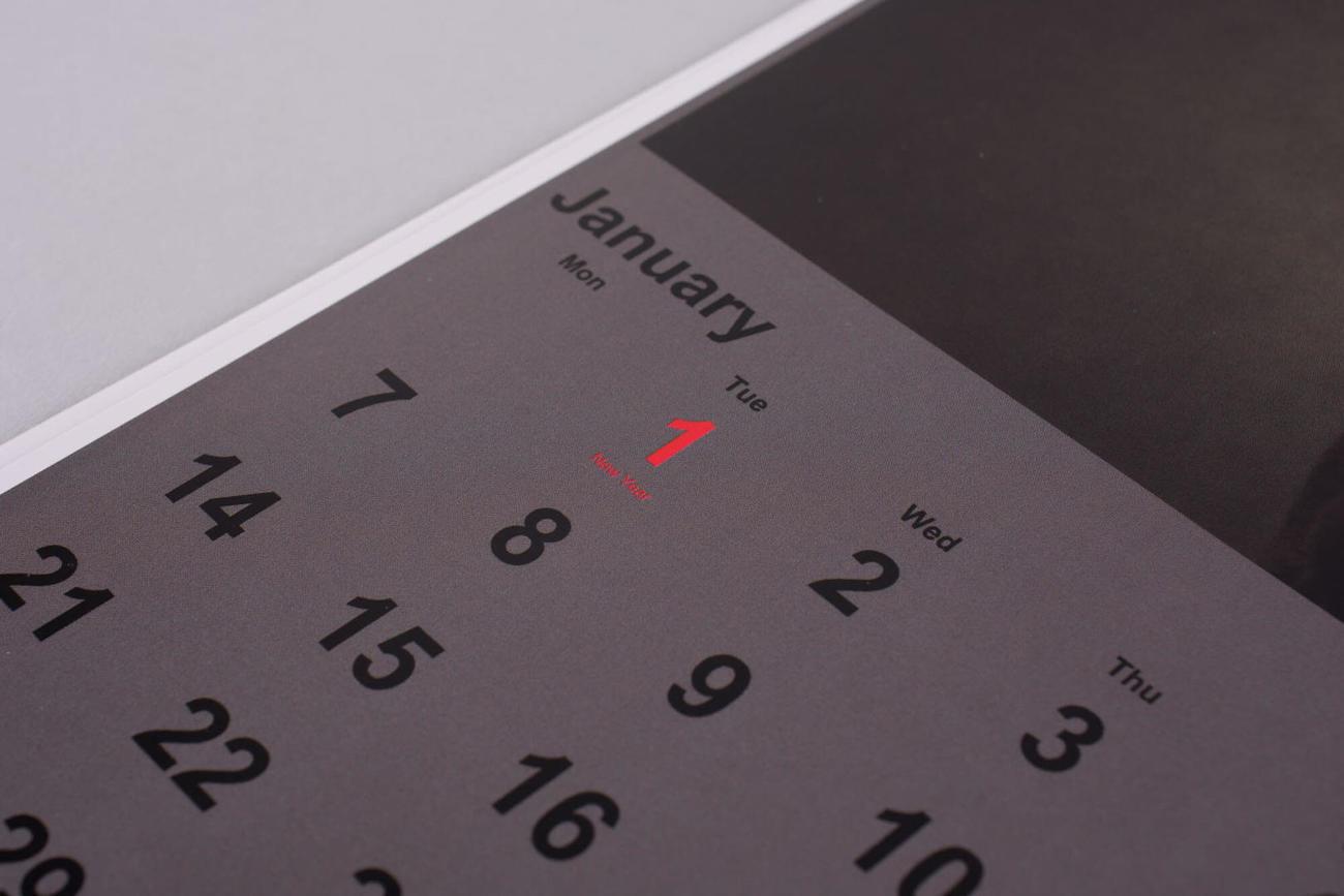 kalendarz z własnymi zdjęciami
