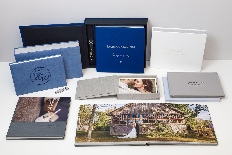 Albumy do zdjęć, fotografie drukowane i naświetlane, Pudełka na albumy, portfolio drukowane.
