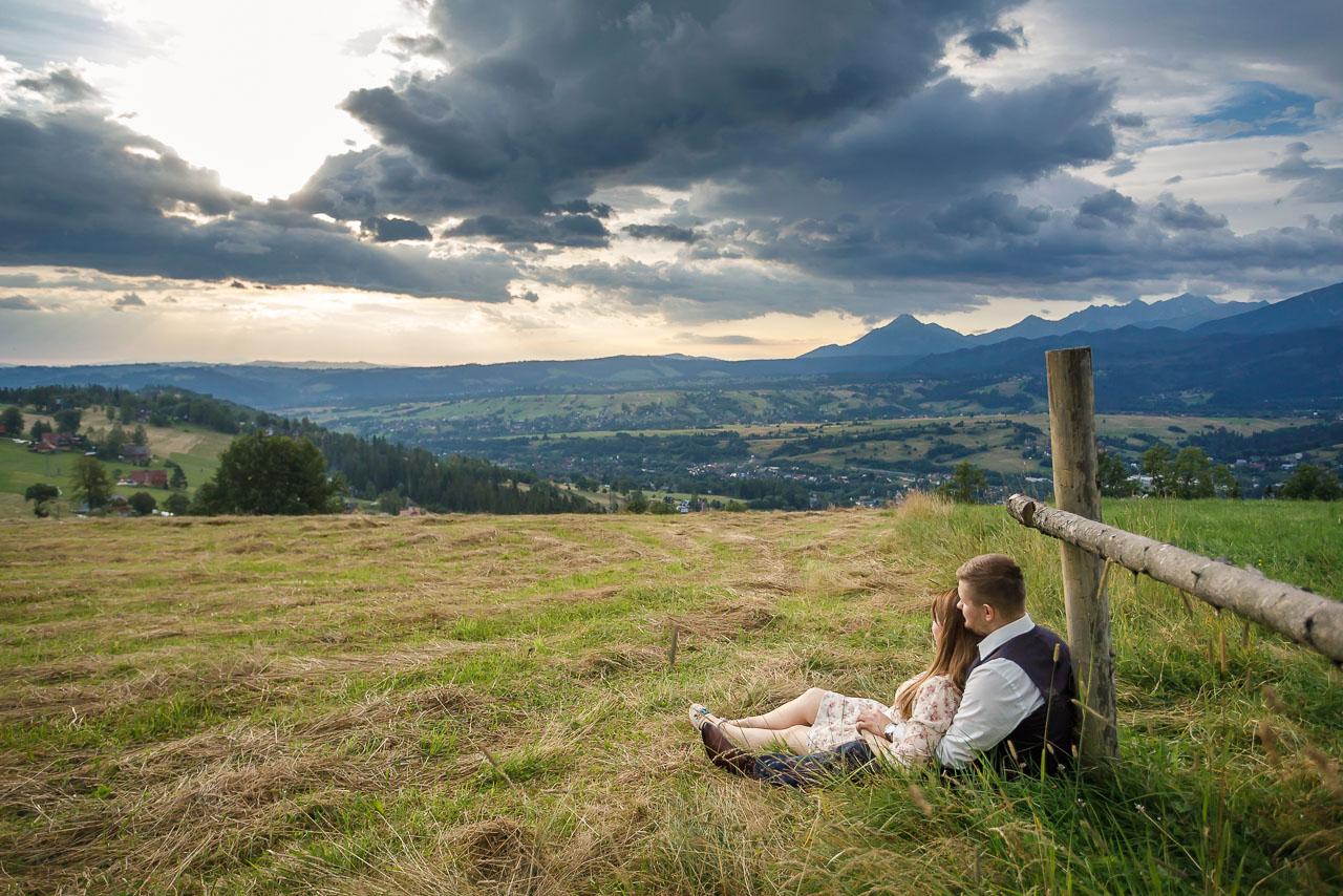 sesja zdjęciowa w górach Tatrach
