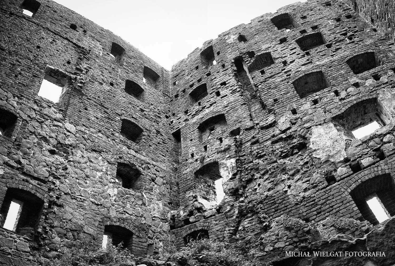 ruiny zamku Bornholm