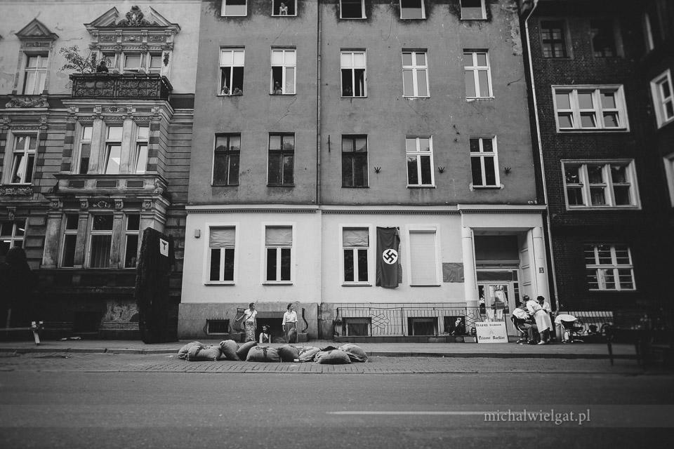 Inscenizacja Powstania Warszawskiego