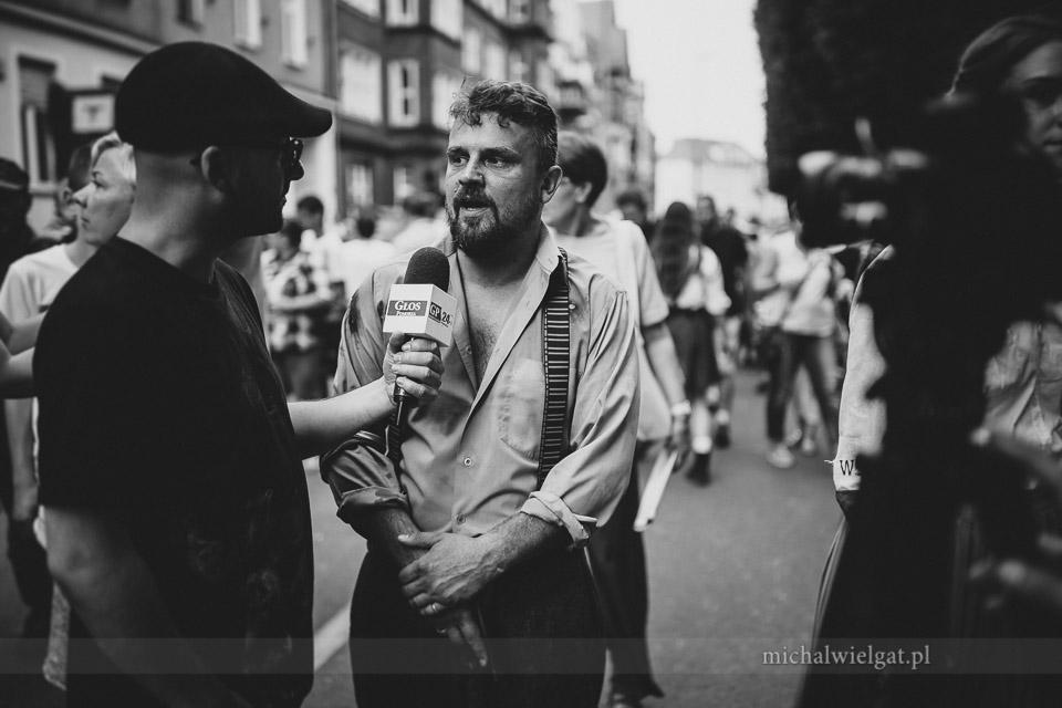 Inscenizacja Powstania Warszawskiego - Jacek Szuba