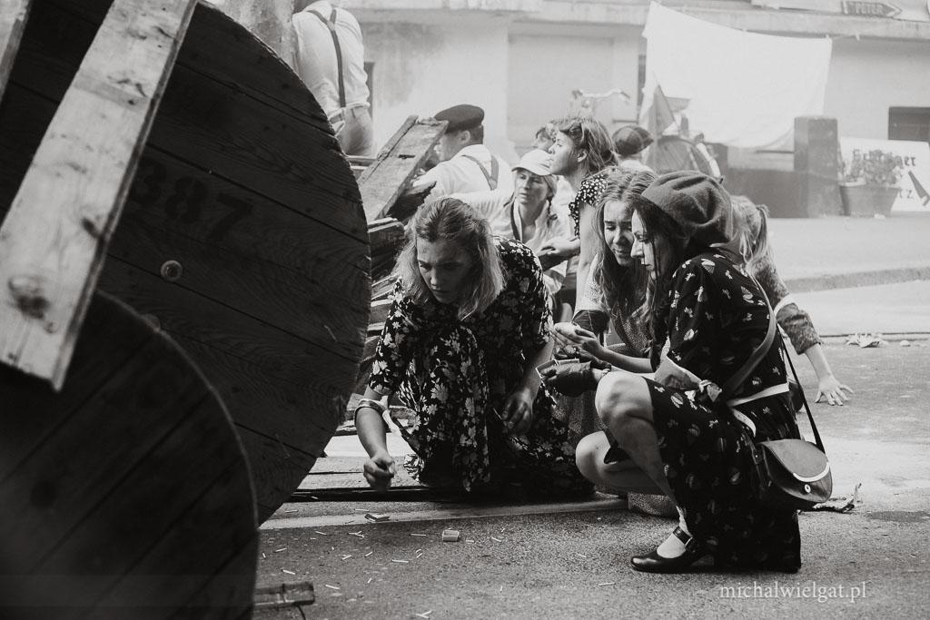 fotograf Słupsk - Inscenizacja wybuchu Powstanie Warszawskie 1944
