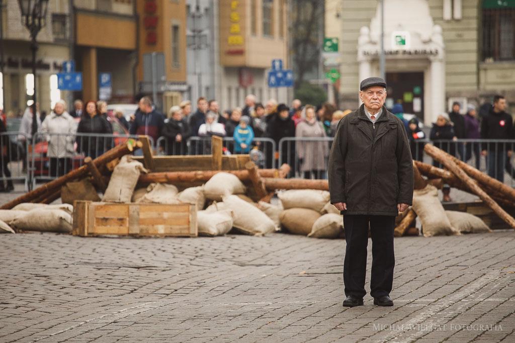 Narodowe Święto Niepodłegłości - inscenizacja Polska Nieśmiertelna Słupsk