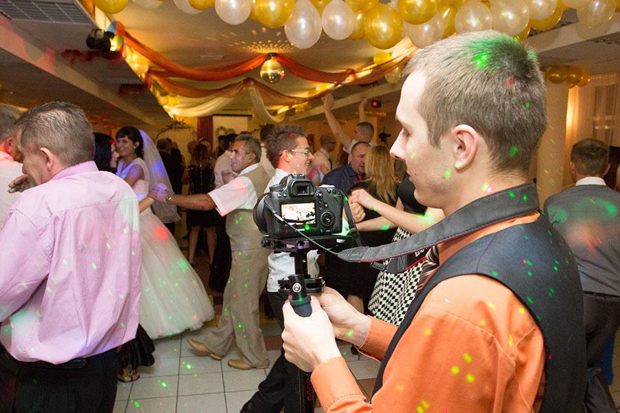 filmowanie wesela gimbal Słupsk Gdańsk