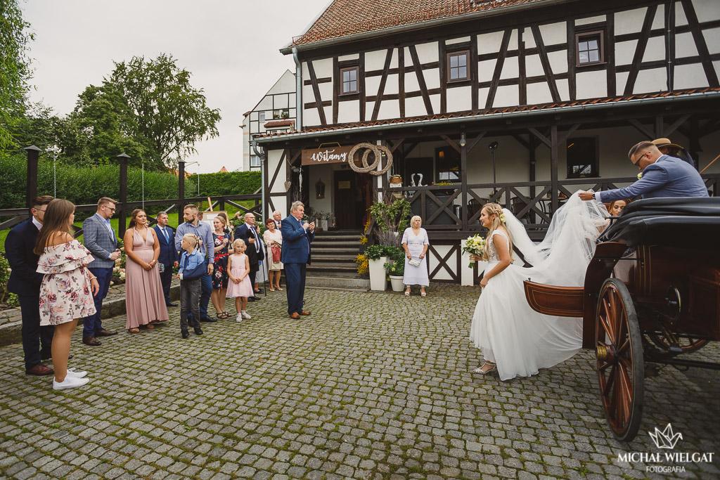 fotograf Braniewo Elbląg bryczka na wesele